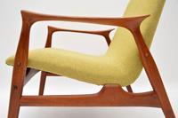 Pair of Danish Teak Armchairs by Arne  Hovmand-Olsen for Mogens Kold (8 of 14)
