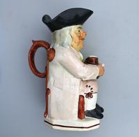 Good Staffordshire Pearlware Toby Jug Early 19th Century (9 of 12)