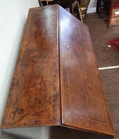 Fine & Rare 18th Century Burr Oak Bureau (4 of 7)