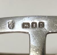 Antique Solid Silver Toast Rack (2 of 8)
