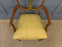 Painted Satinwood Armchair by Jas Shoolbred (3 of 14)