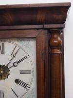 Antique American Ogee Wall Clock – Weight Driven Wall / Mantel Clock (6 of 12)