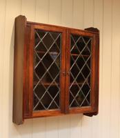 Oak Glazed Wall Cabinet (8 of 9)