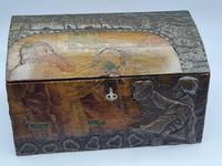 Antique Russian Wood Box with Basma Abramtsevo - Very Large (9 of 13)