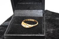 18ct Gold Diamond Ring, size N, weighing 2.6g (3 of 6)