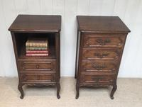 Pair of French Oak Bedside Cabinets (3 of 10)