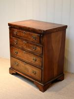 Small Proportioned Walnut Batchelors Chest (3 of 8)