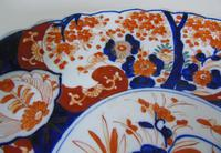 Antique Japanese Imari Charger Meiji (6 of 7)