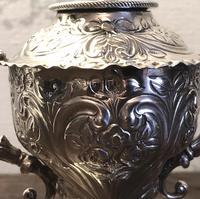 Unusual Victorian William Comyns Silver Oil Pourer c1892 (5 of 6)