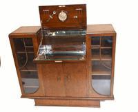Vintage Art Deco Drinks Cabinet 1930s Furniture (3 of 10)