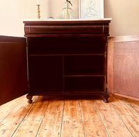 Antique Sideboard / Mahogany Antique Chiffonnier / Cupboard (4 of 7)