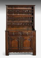 Mid 18th Century French Chestnut Dresser & Rack (2 of 6)