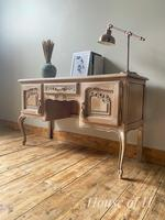 French Antique Style Desk / Dressing Table (2 of 6)