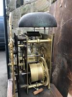 Early Antique Weight Driven Granddaughter Clock (10 of 13)