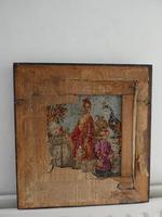 19th Century Oriental Scene Needlepoint (8 of 9)