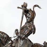 Italian Bronze Equestrian Sculpture of Emanuele Filiberto, Duke of Savoia, by Baron Carlo Marochetti (16 of 17)