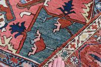 Fine Antique Heriz Room-size Carpet 389x283cm (9 of 11)