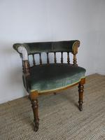 19th Century Oak Desk Chair (7 of 7)