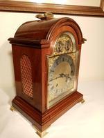 Ting-Tang, W&H  Mahogany Mantel / Bracket Clock (2 of 8)