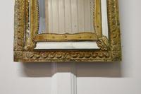 Napoleon III French Brass Cushion Mirror (7 of 7)