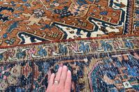 Old Heriz roomsize carpet 338x241cm (4 of 5)