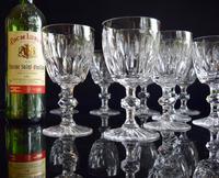 10 Val Saint Lambert Charles X Water Goblets (4 of 5)