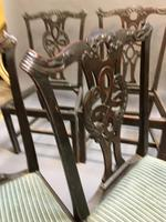 Set of 18th Century Mahogany Dining Chairs (14 of 21)