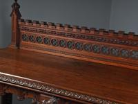 Carved Oak Serving Table Attributed to Pugin (15 of 17)