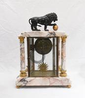 Antique Mantle Clock Set Garniture French Empire Urns (4 of 27)