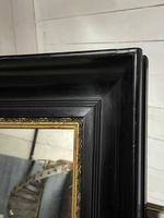 French Ebonised 19th Century Wall Mirror (12 of 16)
