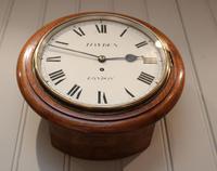 Light Mahogany Fusee Dial Clock (3 of 7)