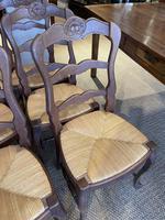 Set of Six Oak Chairs (3 of 6)