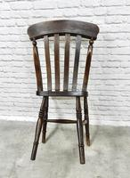 Harlequin Set of 4 Kitchen Windsor Chairs (5 of 5)
