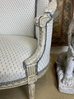 French Carved Wood Two Seat Settee (2 of 7)
