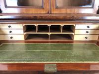 Victorian Mahogany Secretaire Bookcase (8 of 12)