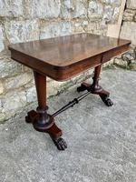 Superb English Victorian Rosewood Centre Table (2 of 5)
