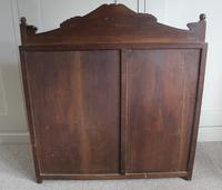Antique Japanese Carved Wood Tabletop Cabinet c.1900 (15 of 15)
