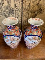 Superb Pair of 19th Century Imari Vases (5 of 6)