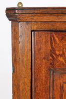 Small Georgian Oak Hanging Corner Cupboard (7 of 13)