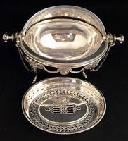 Victorian Silver Plate Breakfast / Caviar Dish (6 of 6)