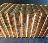 1869  Works of Thomas Carlyle,  10  Volumes Bound in  Fine Full Tree Calf Leather (3 of 5)