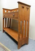 Arts & Crafts Oak Table -  Liberty & Co (4 of 8)