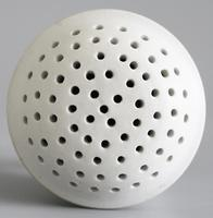Wedgwood Salt Glazed White Stoneware Pounce Pot c.1780 (4 of 10)