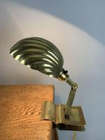 Usa Adjusto ~lite Clip On Desk Table Lamp, C1910. Rewired And Pat Tested (2 of 11)