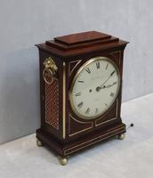 William IV Mahogany Bracket Clock by John Peterkin (5 of 7)