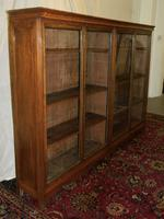 Large Oak Bookcase (2 of 5)