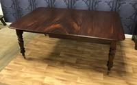 Good Quality Victorian Mahogany Dining table with additional Leaf (7 of 11)