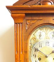 Westminster Chime Bracket Clock Art Nouveau 8-Day Musical Mantel Clock on Bracket c.1900 (2 of 9)