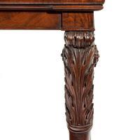 Regency Mahogany Console Table (2 of 8)