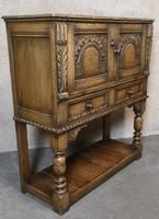Titchmarsh Goodwin English Oak Wine Cabinet (8 of 11)